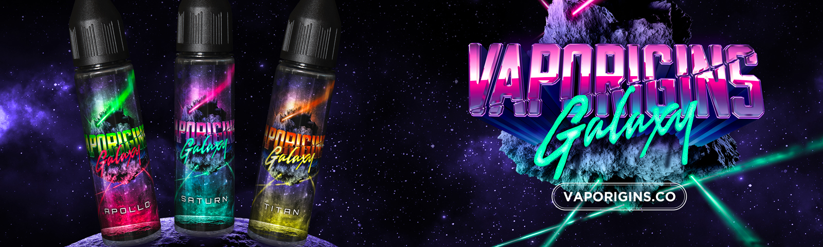 Vaporigins Galaxy Titan Apollo Saturn